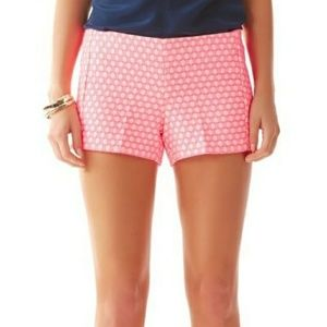 Lilly Pulitzer Liza Shorts in Hotty Pink